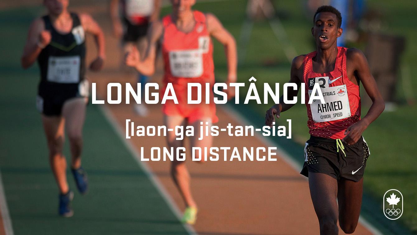 Long distance (longa distância), Carioca Crash Couse, athletics edition