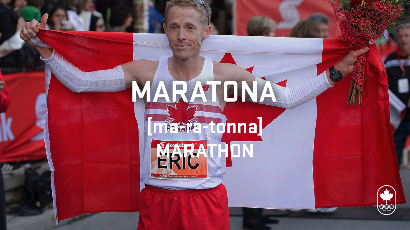 Marathon (maratona). Carioca Crash Course, athletics edition