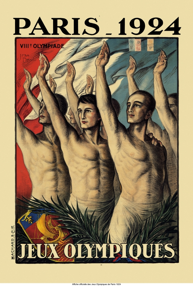Paris 1924 official poster / Photo via The Olympic Museum