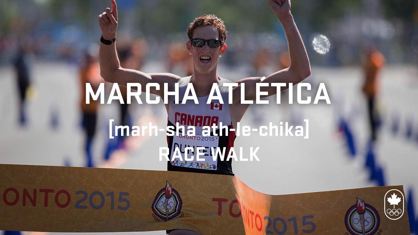 Race walk (marcha atlética), Carioca Crash Course, athletics edition