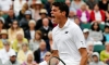 Raonic shows fight in comeback victory over Goffin at Wimbledon