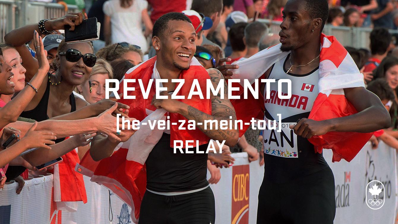 Relay (revezamento), Carioca Crash Course, athletics edition