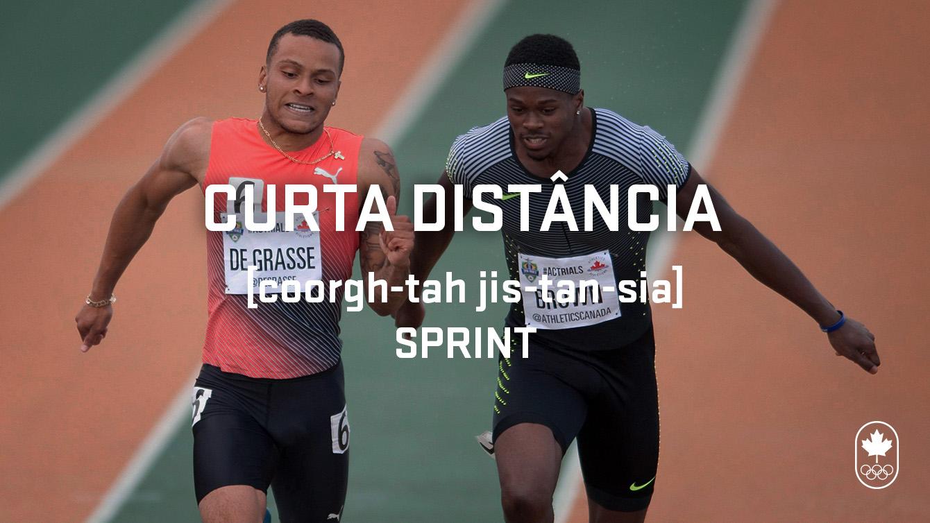 Sprint (curta distância), Carioca Crash Course, athletics edition