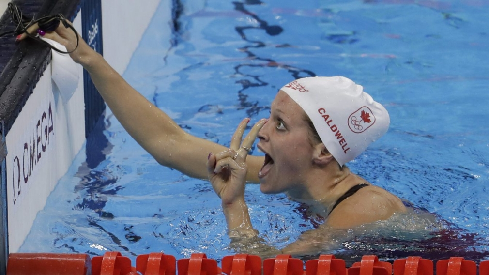 Caldwell comes through with Olympic backstroke bronze in Rio