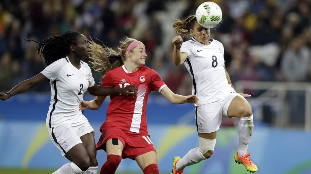 Rio 2016: Canada v. France football quarterfinal