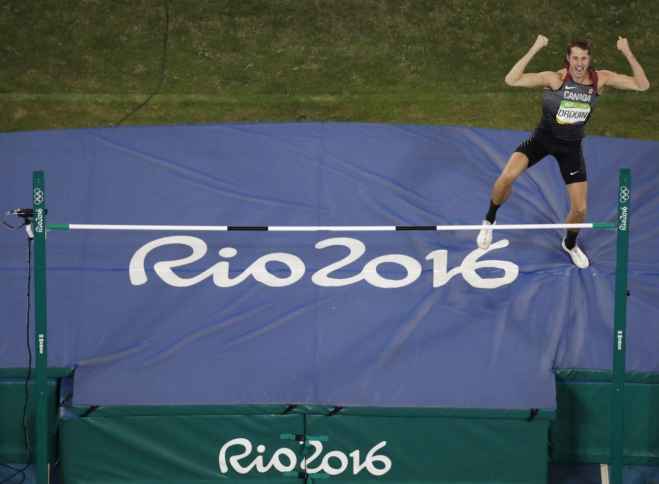 Rio 2016: Derek Drouin High Jump Gold   Team Canada ...
