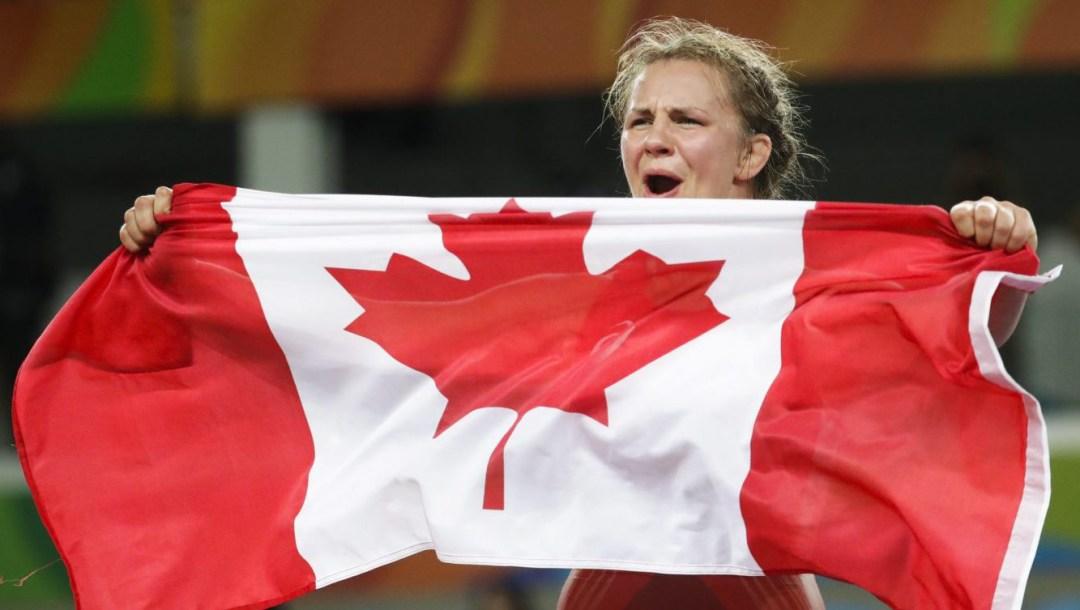Rio 2016: Erica Wiebe (Women's 75kg Wrestling)-9