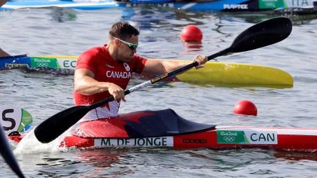 Rio 2016: Mark de Jonge (Canoe/Kayak Sprint - K1 200m)