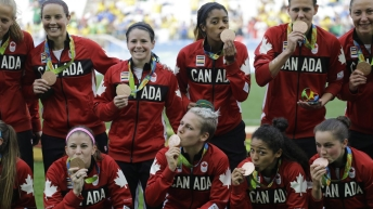 Team Canada Women's Soccer 2012