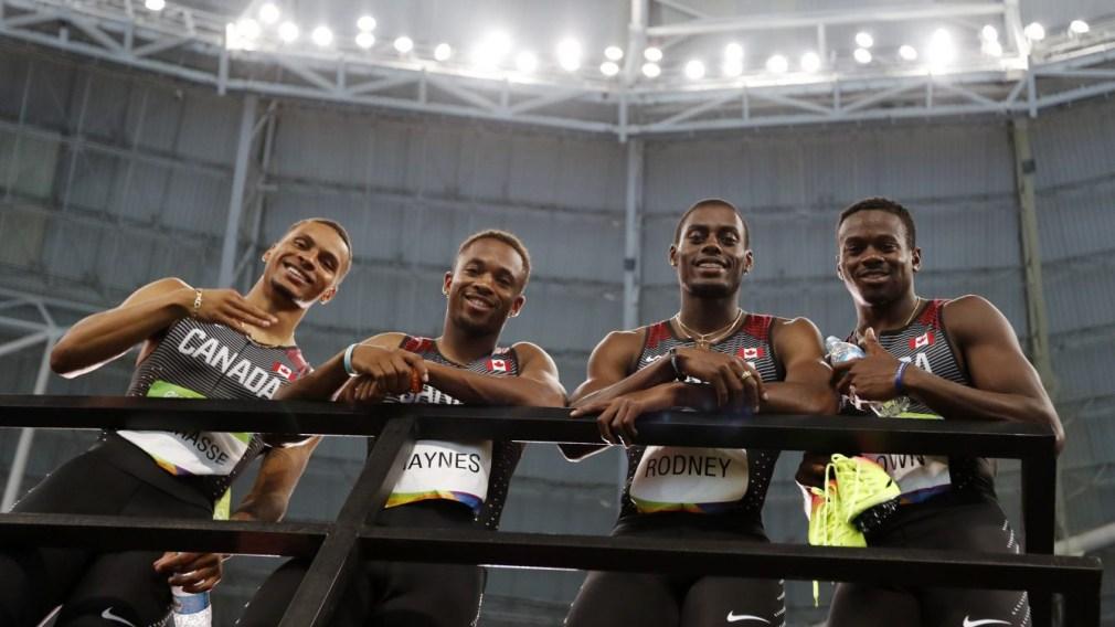 Rio 2016: Men's 4x100m bronze