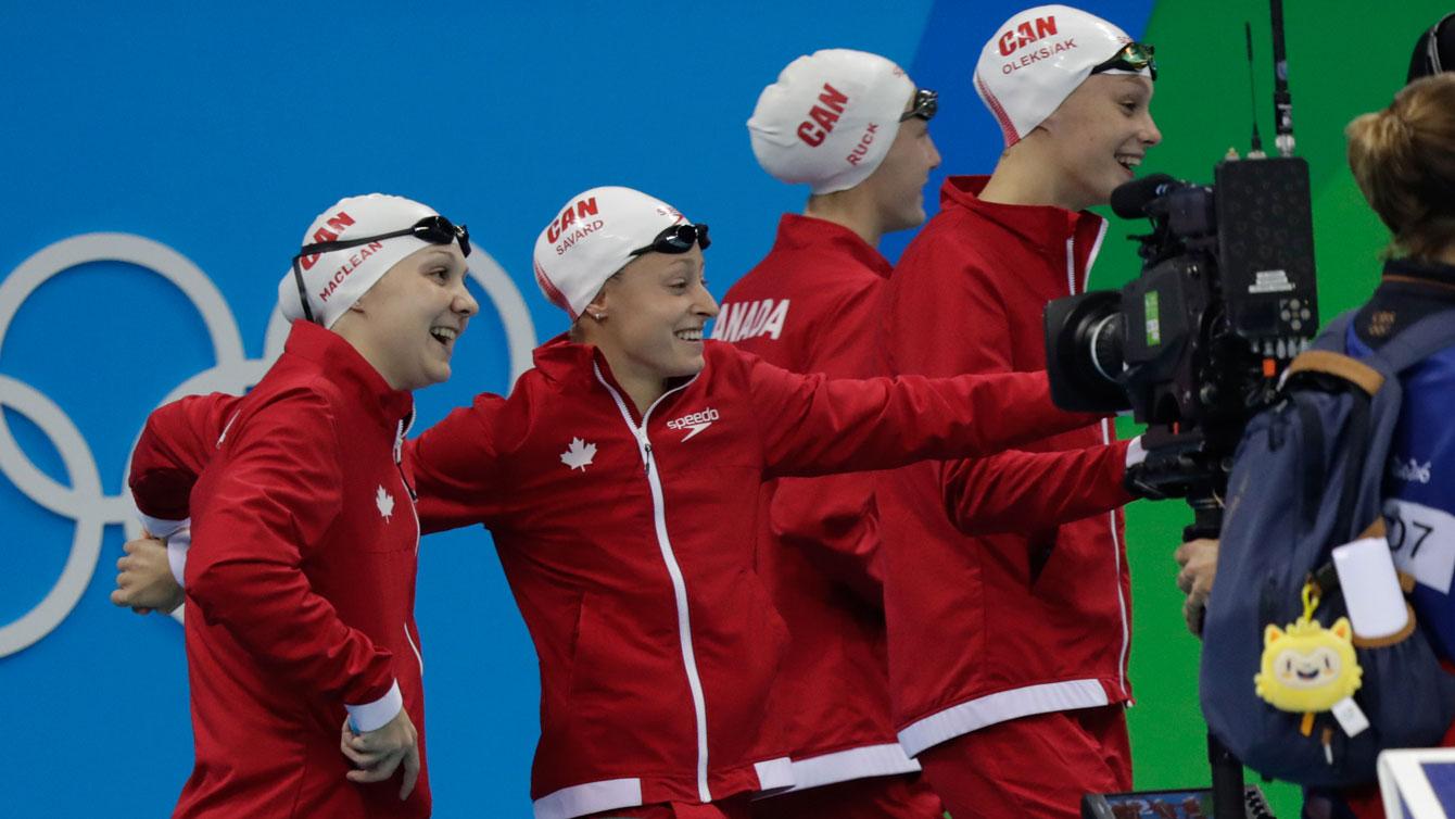 Rio 2016: 4x200m final team