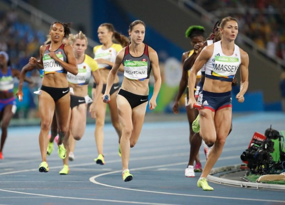 Rio 2016: Alicia Brown and Noelle Montcalm, Rio 2016. August 19, 2016. COC Photo/Mark Blinch