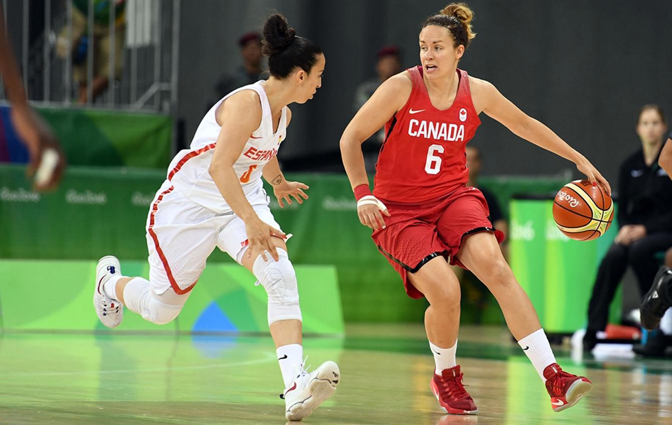 Rio 2016: Shona Thorburn, women's basketball