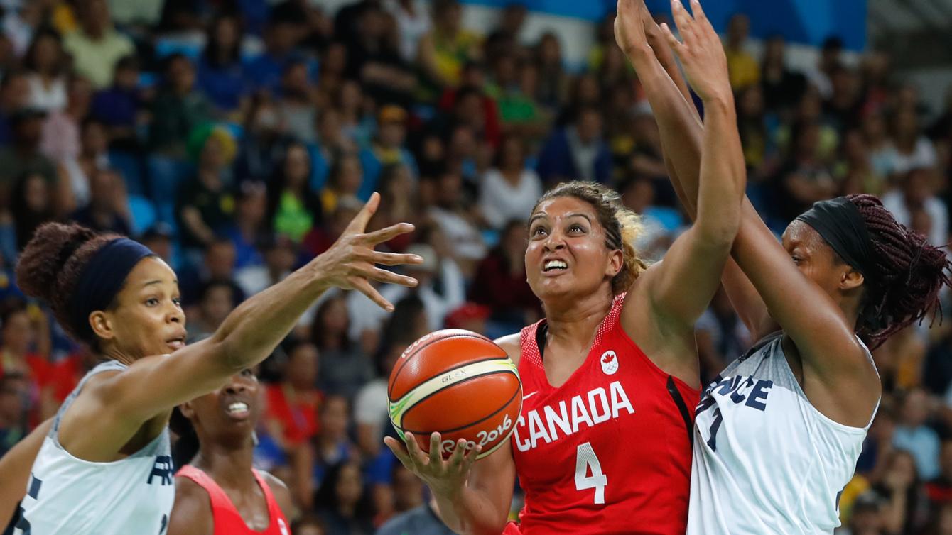 Rio 2016: Miah-Marie Langlois, women's basketball