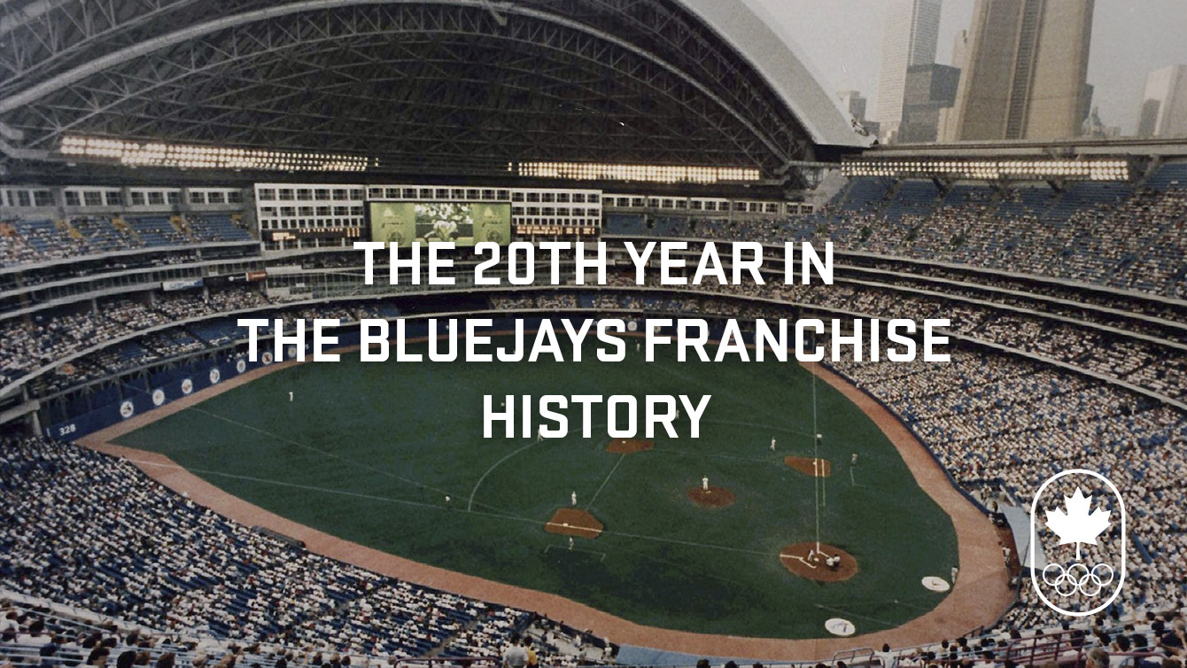 1996 was the Toronto Blue Jay's 20th anniversary.