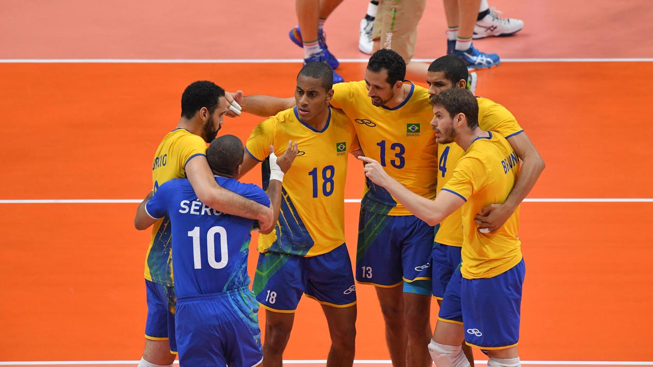 Rio 2016: Brazil vs Italy, men's volleyball