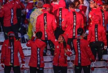 Team Canada at the Rio 2016 closing ceremony (COC/Jason Ransom)
