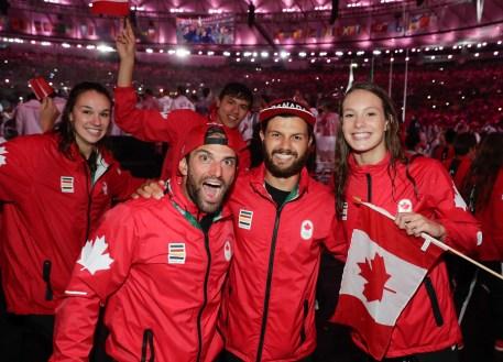 Rio 2016 closing ceremony Team Canada (COC/Jason Ransom)