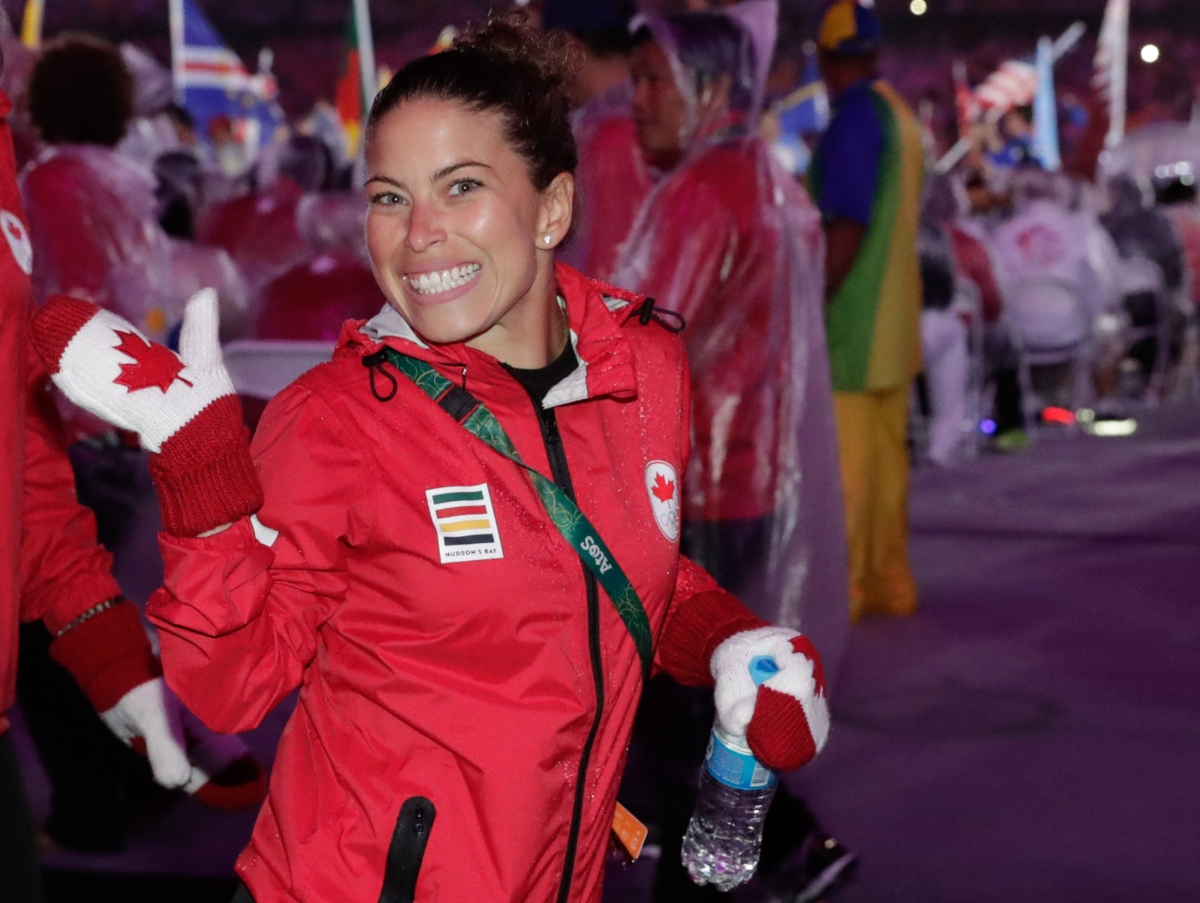 Roseline Filion at the Rio 2016 Closing Ceremonies on August 21, 2016. (COC/Jason Ransom)