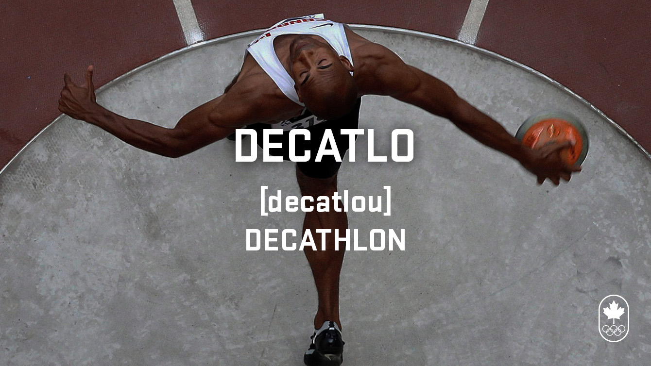 decathlon (decatlo), Carioca Crash Course, athletics edition