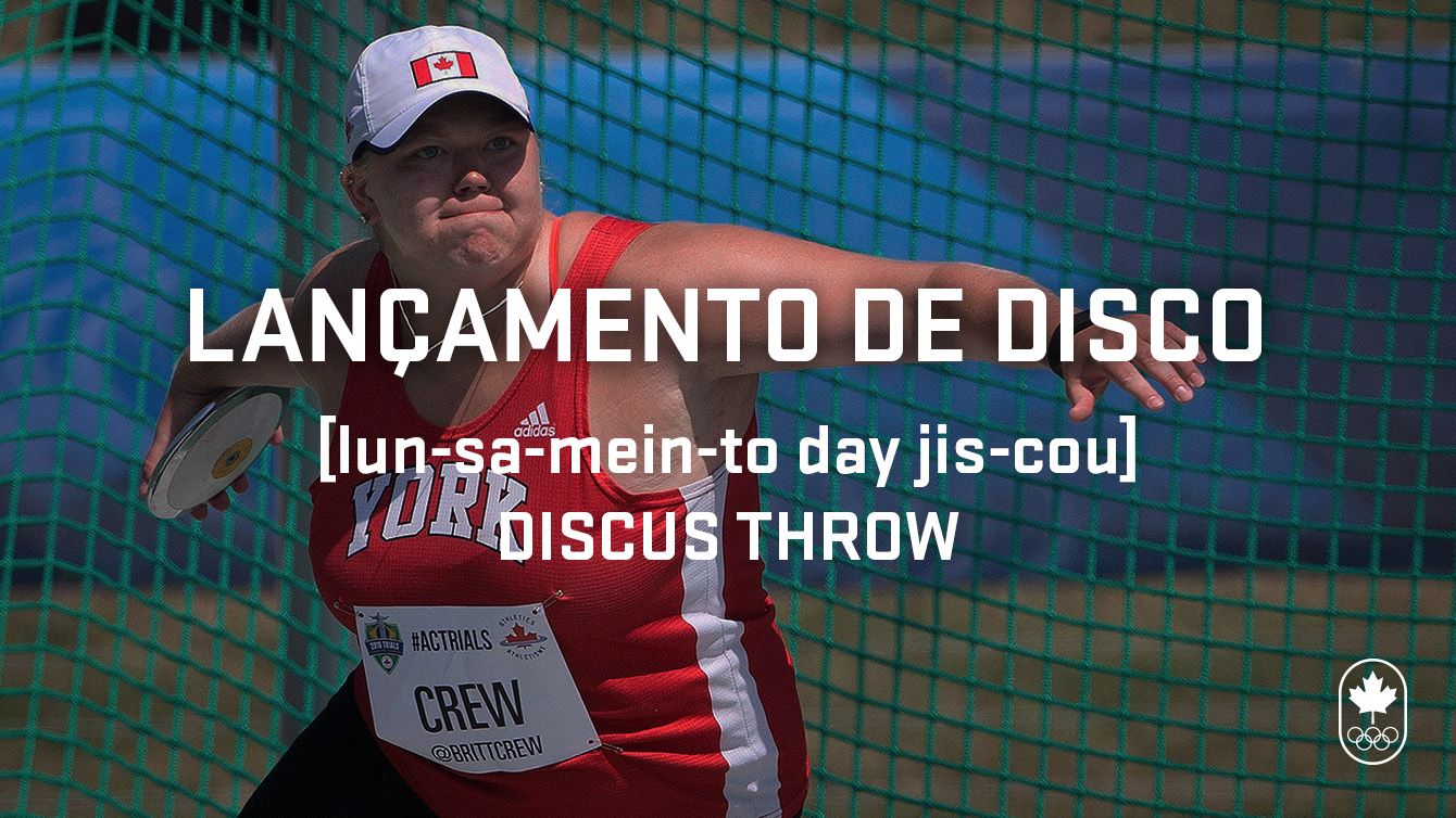 Discus throw (lançamento de disco), Carioca Crash Course - Athletics edition