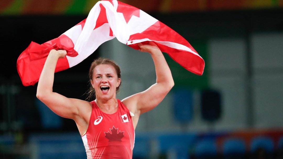 Rio 2016: Erica Wiebe (Women's 75kg Wrestling)
