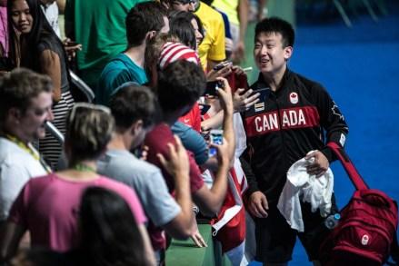 Eugene Wang, Rio 2016. August 6, 2016. COC Photo/David Jackson