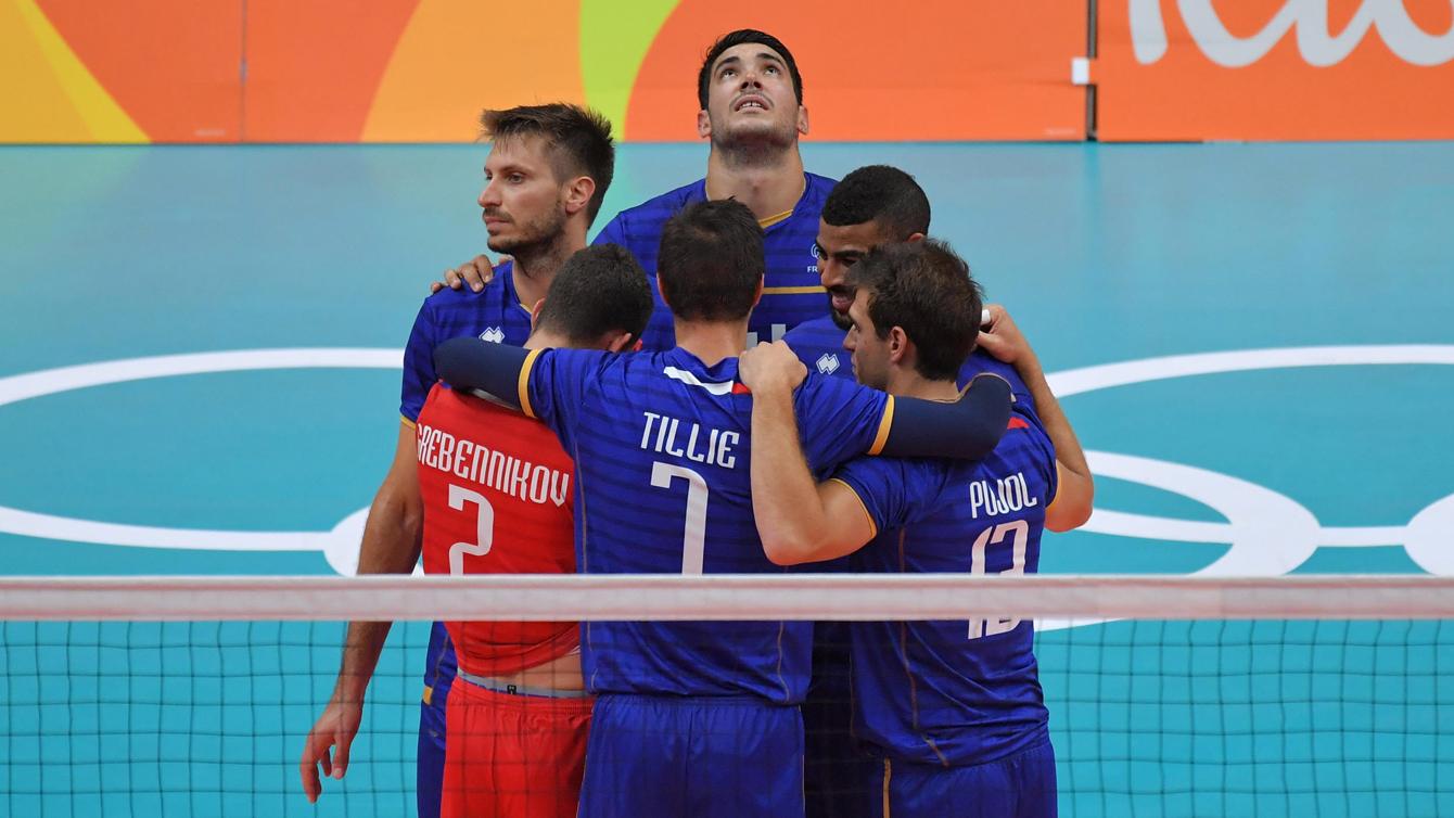 Rio 2016: France vs USA, men's volleyball