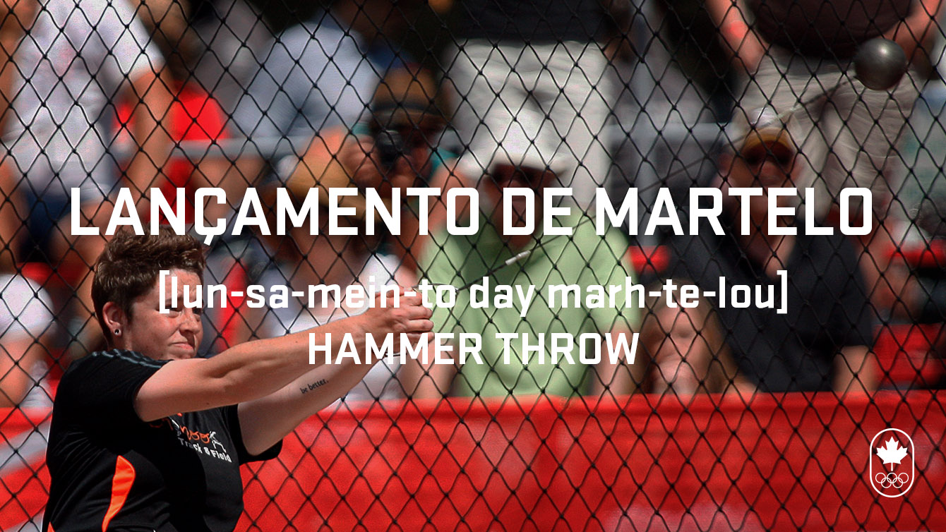 Hammer throw (lançamento de martelo), Carioca Crash Course, Athletics edition