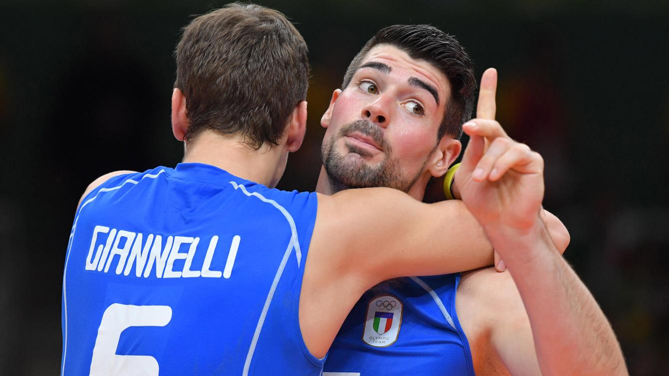 Rio 2016: Simone Giannelli and Filippo Lanza, volleyball