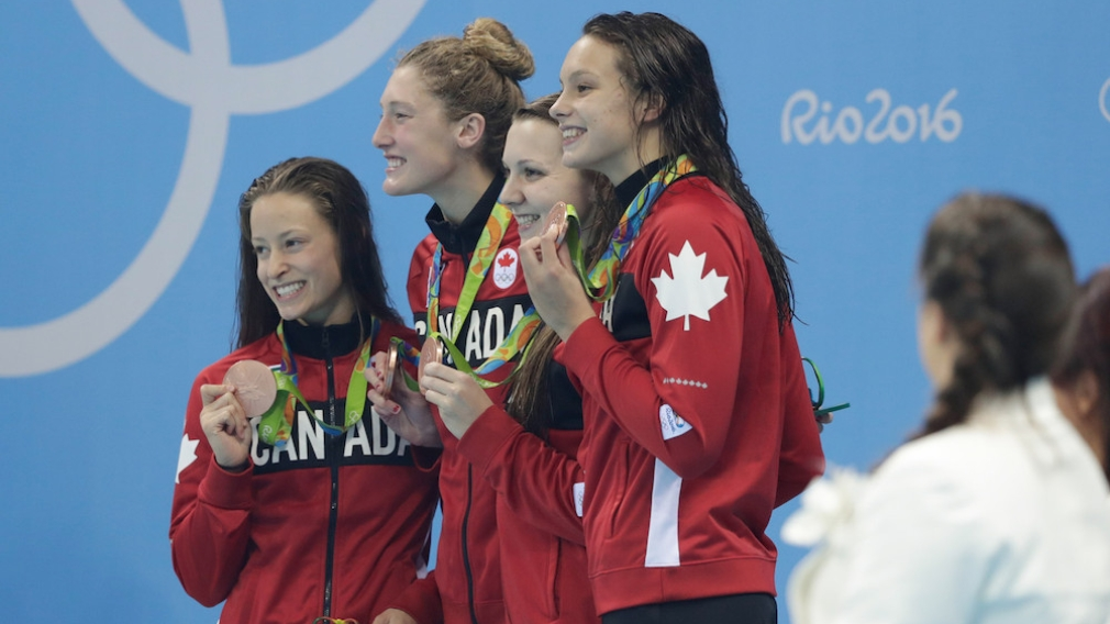 Media Advisory: Rio 2016 4x200m freestyle relay bronze medallist Katerine Savard to hold media availability