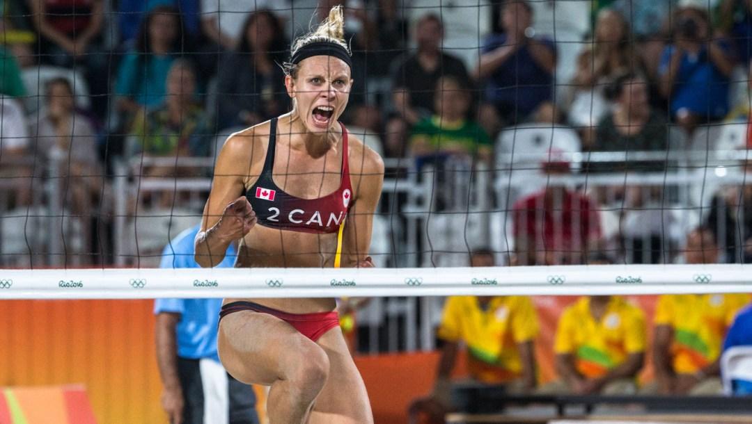 Rio 2016, beach volleyball, Kristina Valjas. Photo: COC-PhotoDavid-Jackson