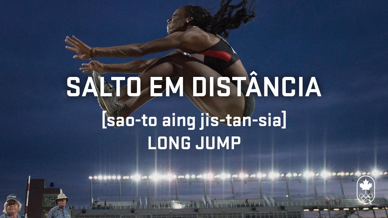 long jump (salto em distância). Carioca Crash Course, athletics edition