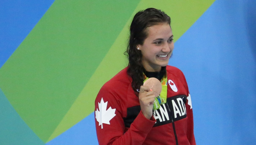 Rio 2016: Kylie Masse 100m backstroke