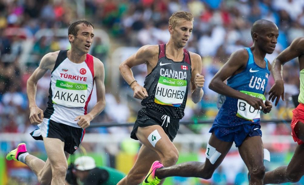 Matt Hughes running