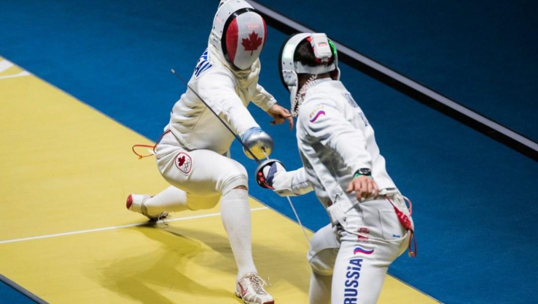 Rio 2016: Maxime Brinck-Croteau, fencing