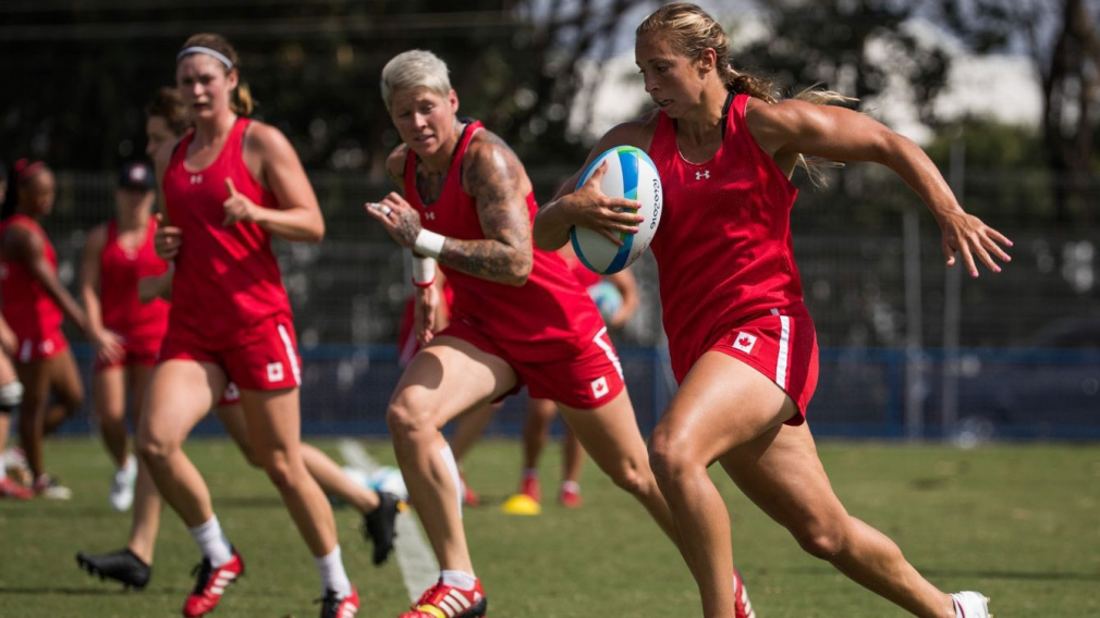 Megan Lukan: From the basketball court to the first-ever Olympic rugby team