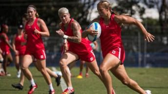 Megan Lukan rugby Rio 2016