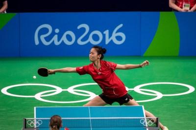 Mo Zhang, Rio 2016. August 6, 2016. COC Photo/David Jackson