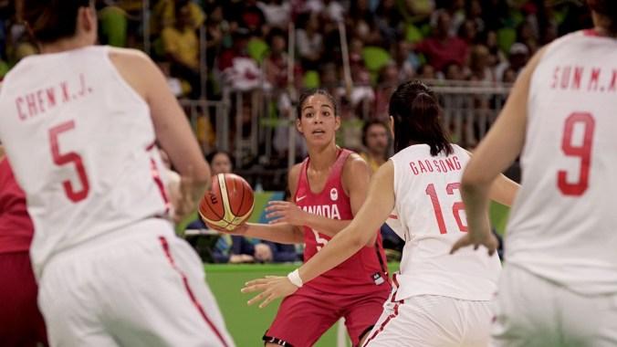 Kia Nurse: Women's Basketball, Rio 2016. August 6, 2016.