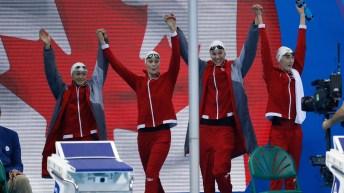 Rio 2016: 4x100m freestyle relay