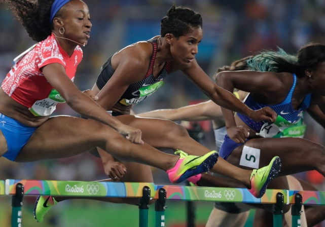 Phylicia George, Rio 2016. August 17, 2016. COC Photo/Jason Ransom