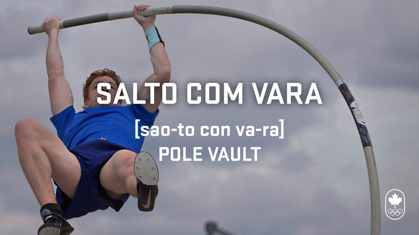 Pole vault (salto com vara) Carioca Crash Course - Athletics edition