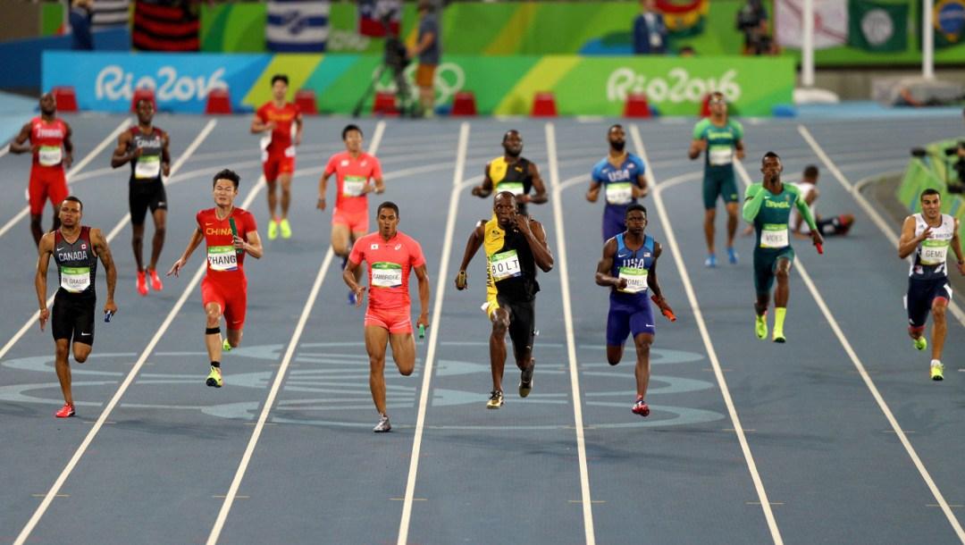 Rio 2016: Men's 4x100m relay