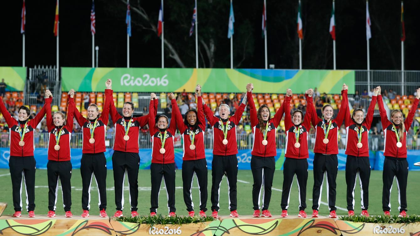 Rio 2016: Women's rugby bronze ( Mark Blinch)