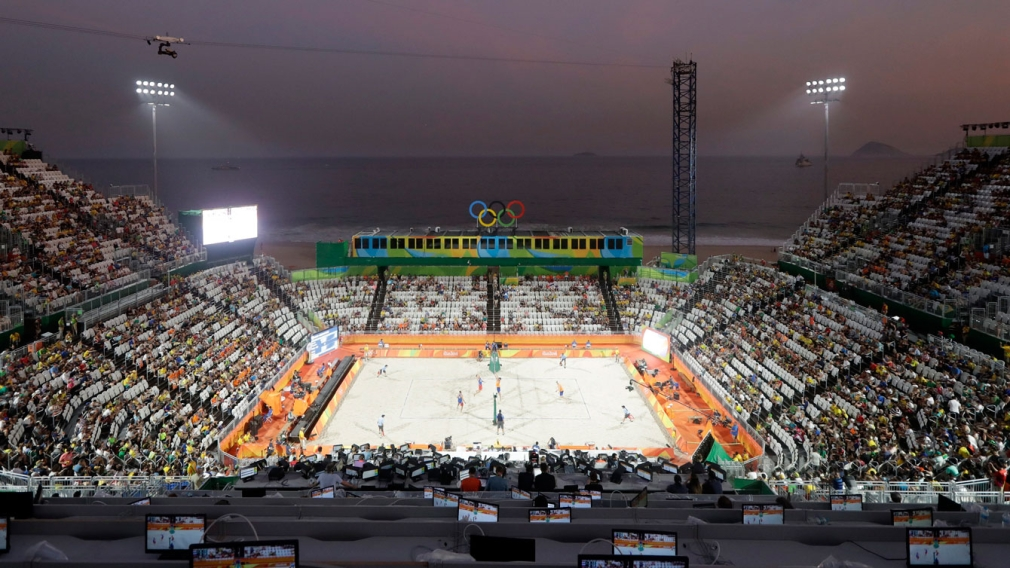 Known for its football, Olympic host Brazil is also a volleyball nation