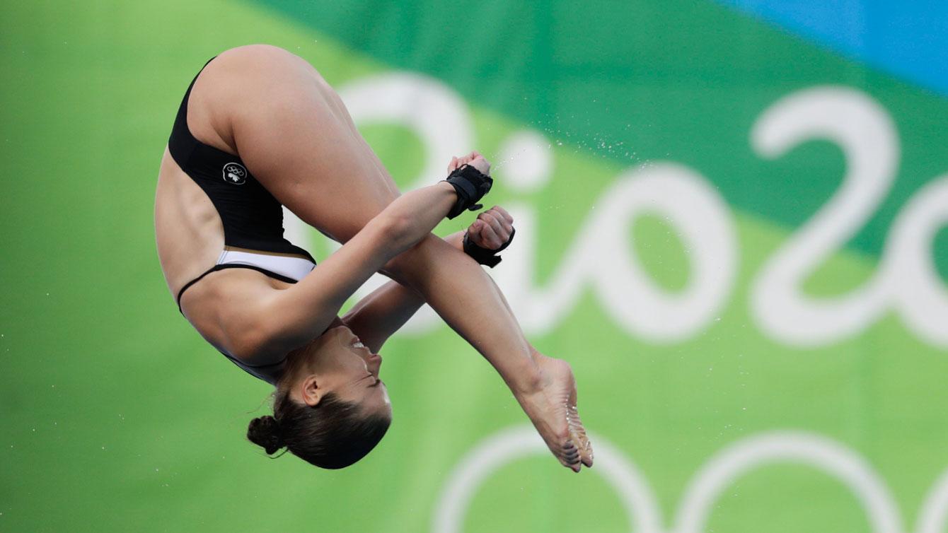 Rio 2016: Roseline Filion (Individual 10m Platform)
