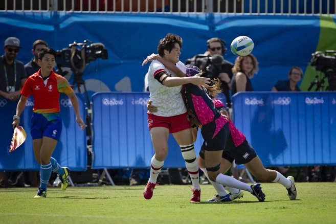 Rugby Prelims. CAN vs. JPN August 6, 2016. COC Photo/Paige Stewart