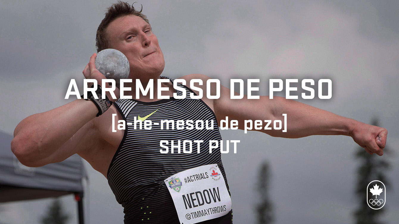 shot put (arremesso de peso), Carioca Crash Course, Athletics edition