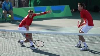 Rio 2016: Vasek Pospisil and Daniel Nestor, tennis